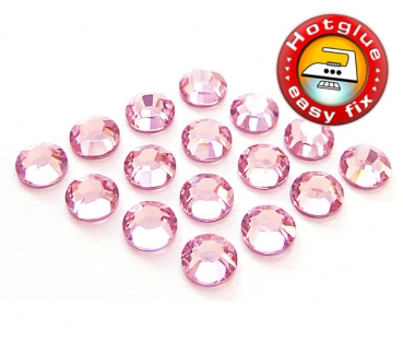 Swarovski® Kristalle 2038 Hotfix, SS10 Light Rose (Strass-Steine)