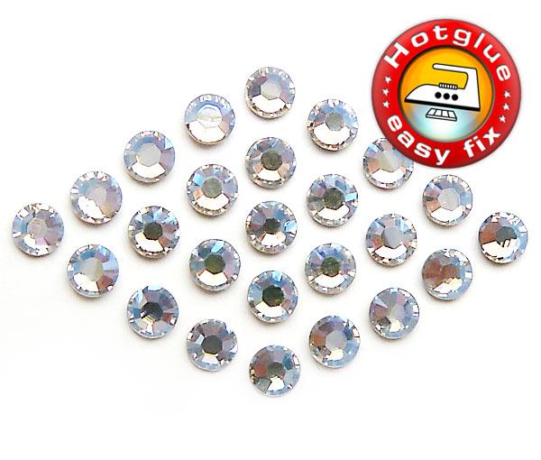 SWAROVSKI HOTFIX STRASSSTEINE Crystal SS10 2,8mm Strass zum bügeln XILION ROSE