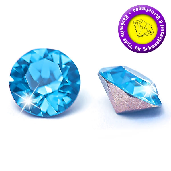 swarovski crystals 1088 chatons 2,7mm Capri Blue