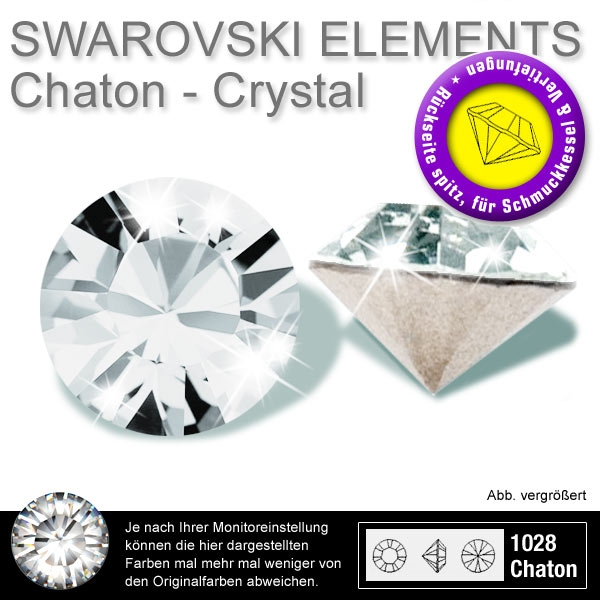 swarovski crystals 1028 chatons 1,45mm crystal