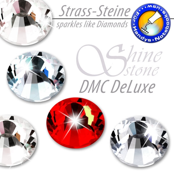 ShineStone DeLuxe DMC Strass-Steine SS20 Light Siam