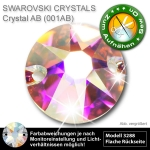 Swarovski® Kristalle 3288 XIRIUS Sew On, 8 mm Crystal AB (Strass Steine)