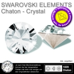 swarovski crystals 1028 chatons 1,2mm crystal